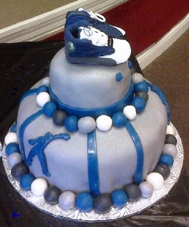 Michael Jordan ~ Baby Shower Cake