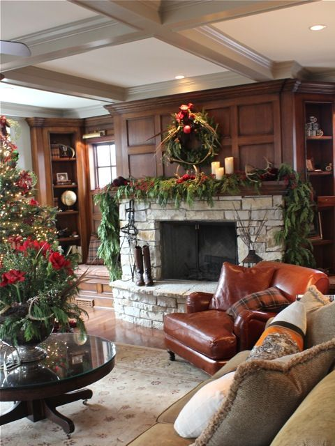Our Christmas Showhouse Decor English Country Cottage Manor Apartm