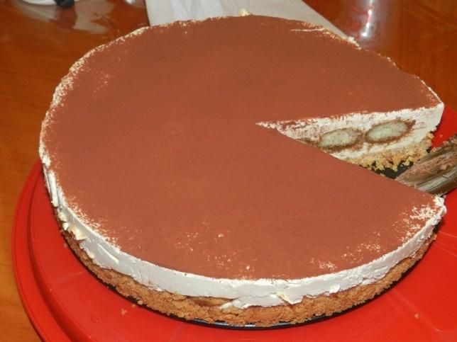 Tiramisu cheesecake! | food and recipes | Pinterest