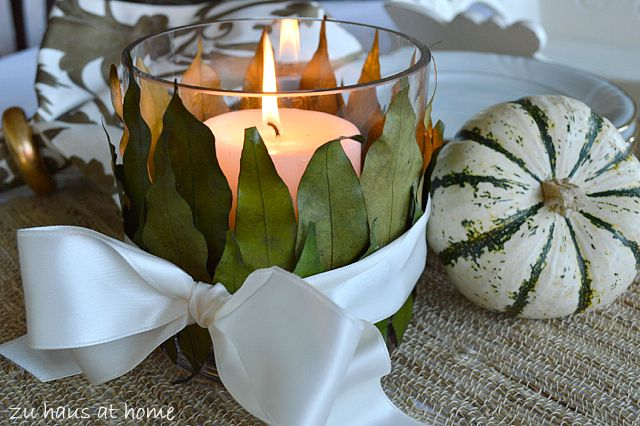 simple table decor