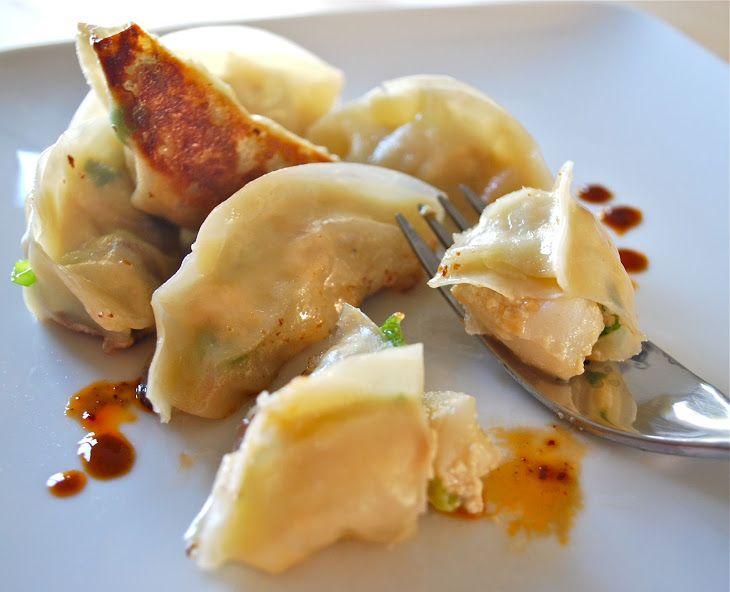 Scallop Potstickers | Devyn | Pinterest