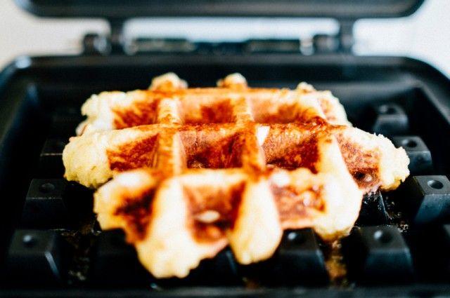 Non-Waffle Recipes You Make With A Waffle Iron | Banana Bread Waffle ...