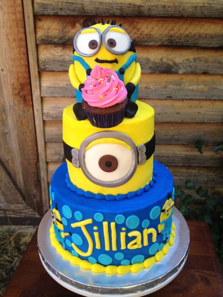 Minion Cake Design Pinterest : Minion Cake Cake Pinterest