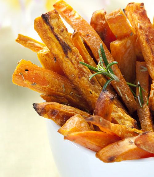"Sweet Potato Fries""- A healthy side dish with nice flavor. We'll ..."