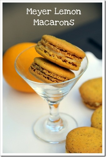 Meyer Lemon Creams, Meyer Lemon Macarons Recipe — Dishmaps