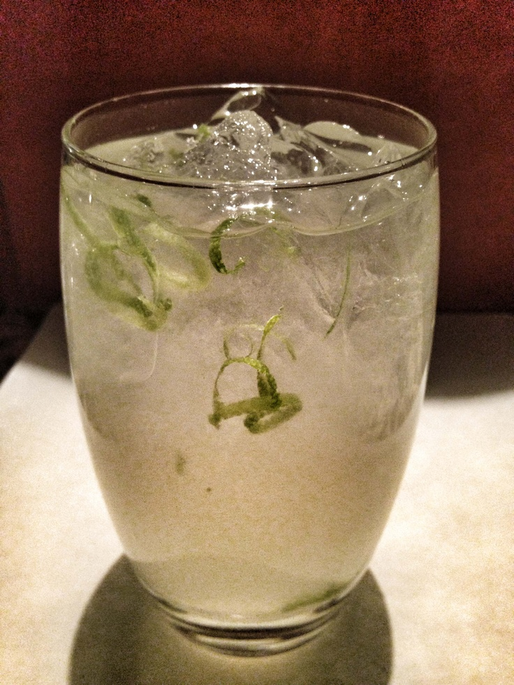 ... Resort! Made with 1 1/2oz. Sobieski Vodka, 1 lime wedge & ginger beer