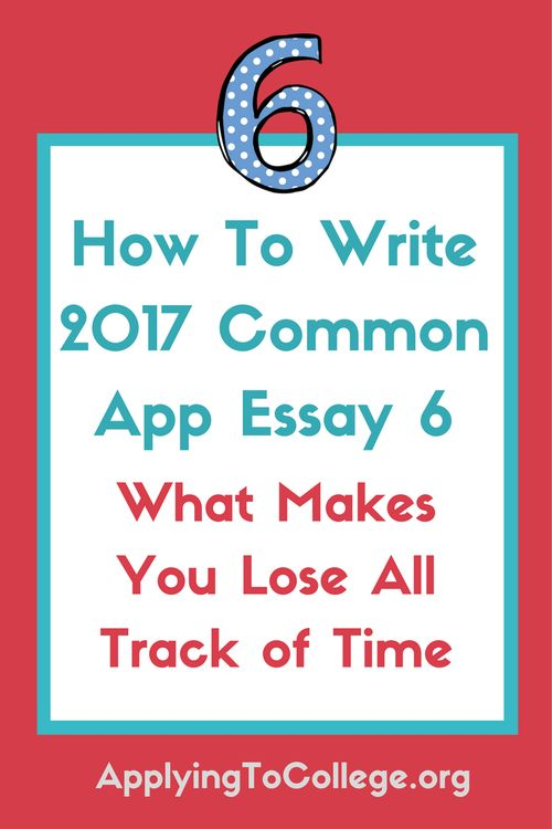 w to write the common app essay - Evolistco