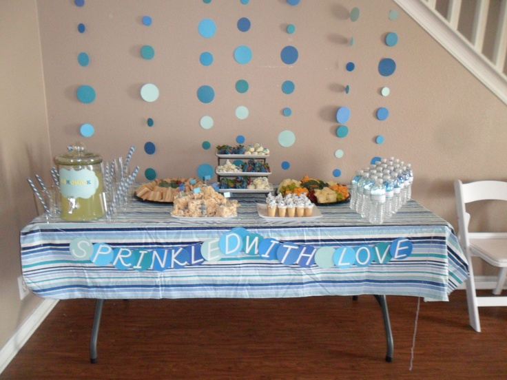 Actual Tablescape For Lauras Baby Shower Party Baby
