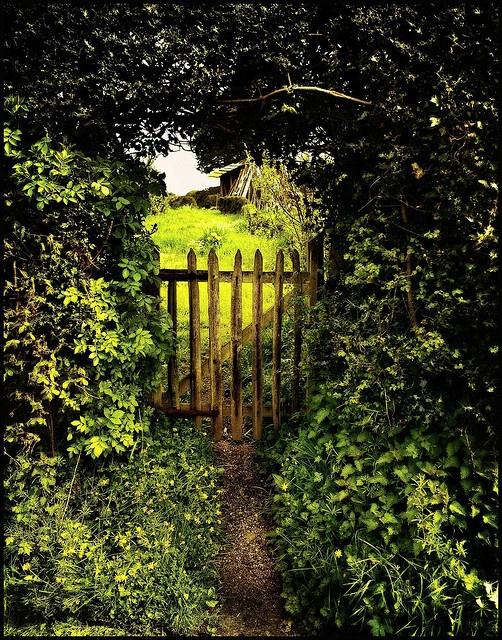 secret garden gate | Secret Garden & Flowers ...