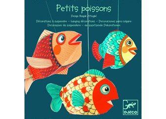 Deze lichtgewicht vissen kunnen opgehangen worden aan een draadje en ...