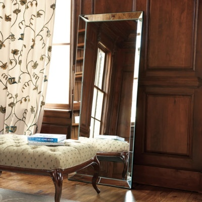 Love large mirrors master bedroom pinterest for Large bedroom mirror