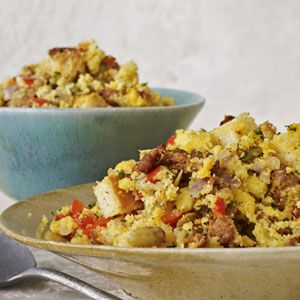Cornbread and Chorizo Stuffing - Thanksgiving Recipes - Holiday ...