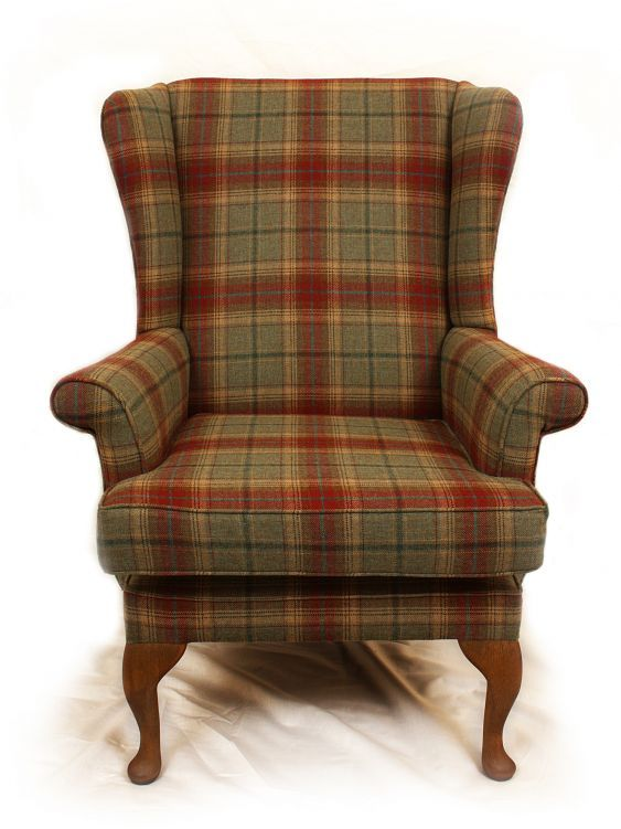 Tartan Wing Back Chair Furniture Pinterest