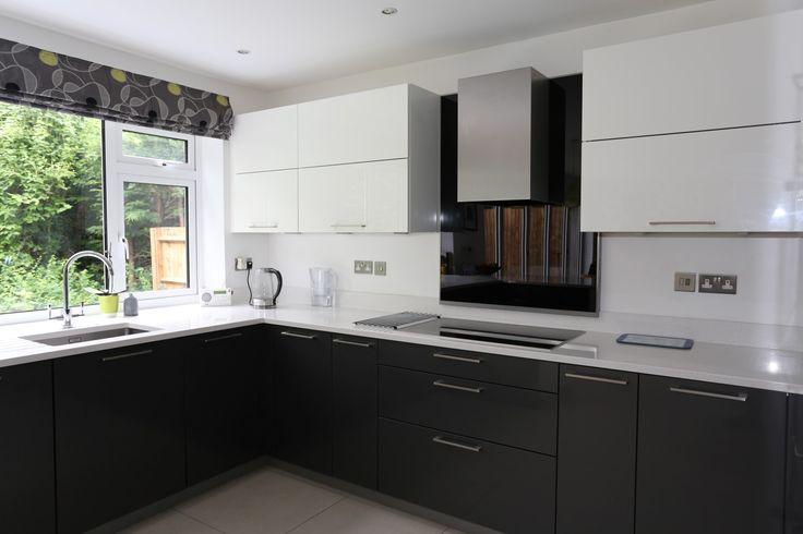 Znalezione obrazy dla zapytania grey kitchen kuchnia Pinterest