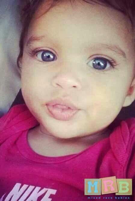 African & Caucasian | Beautiful Mixed Race Babies | Pinterest