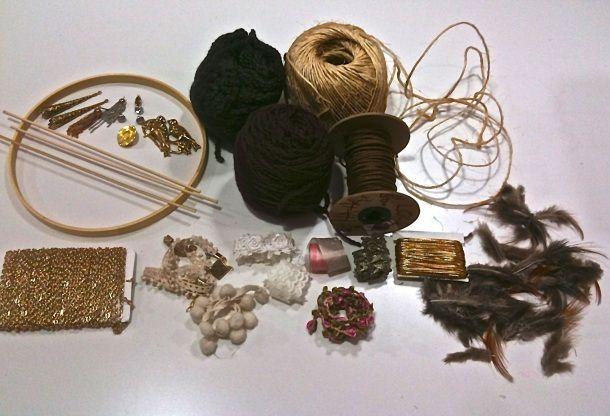 Dream catcher supplies diy art lessons pinterest for Materials to make a dreamcatcher