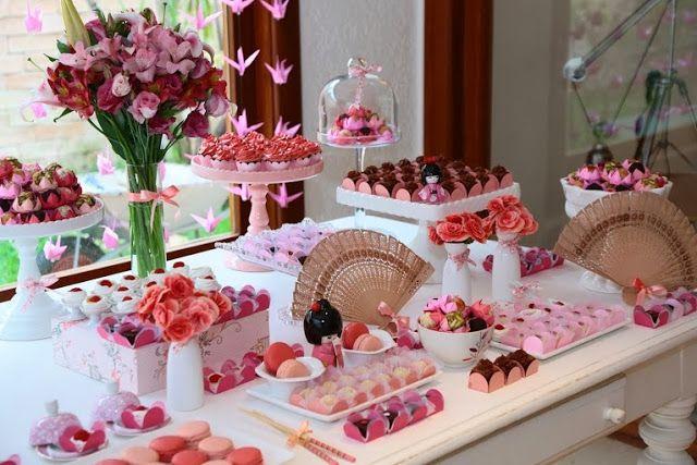 decoracao festa kokeshi:Bella Fiore Decoração de Eventos: Chá de bebê