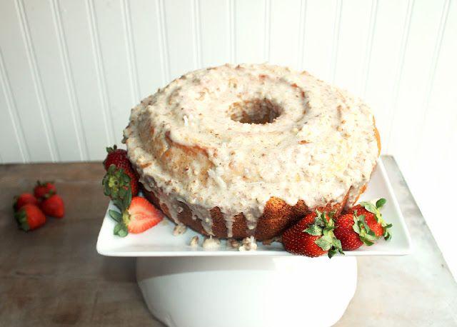 Creole Contessa: Louisiana Crunch Cake w/ Butter Pecan Glaze. ☀CQ # ...
