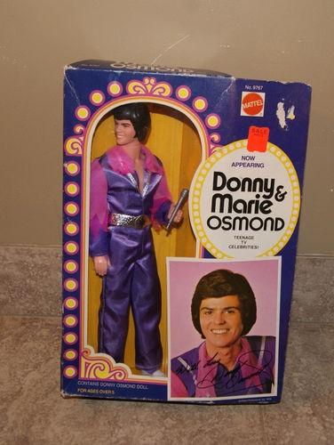 1976 Mattel DONNY & MARIE OSMOND Donny Doll ~ MIB NRFB Celebrity Singer Donnie