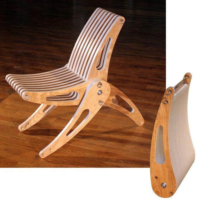 Раскладной стульчик из фанеры своими руками