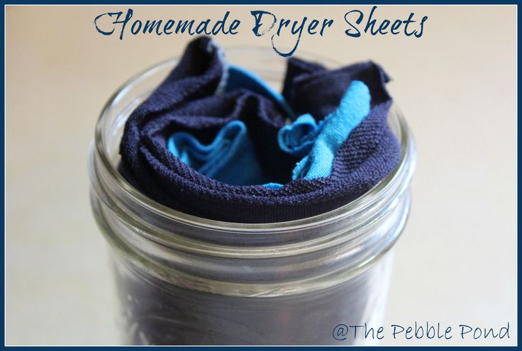 DIY Dryer Sheets! They really work and SAVE money! #homesteading, #livingsimply, #DIY