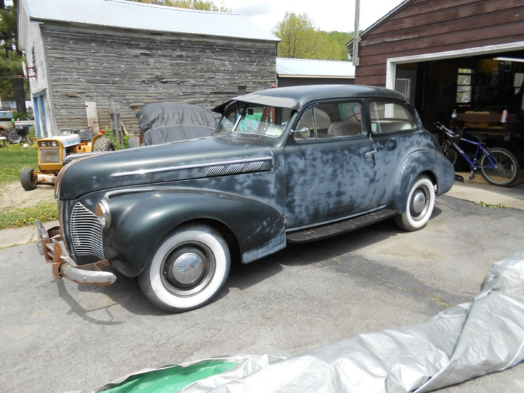 1940 pontiac silver streak 2 door cars pinterest for 1940 pontiac 2 door sedan