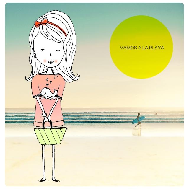 menina na praia, vamos a la playa, verão, praia, summer, surf