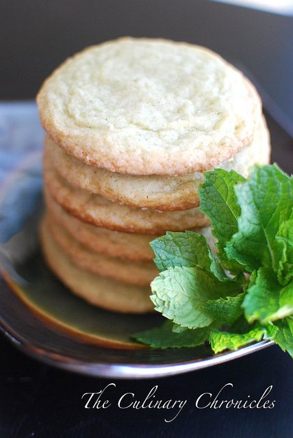 Mojito Cookies by The Culinary Chronicles