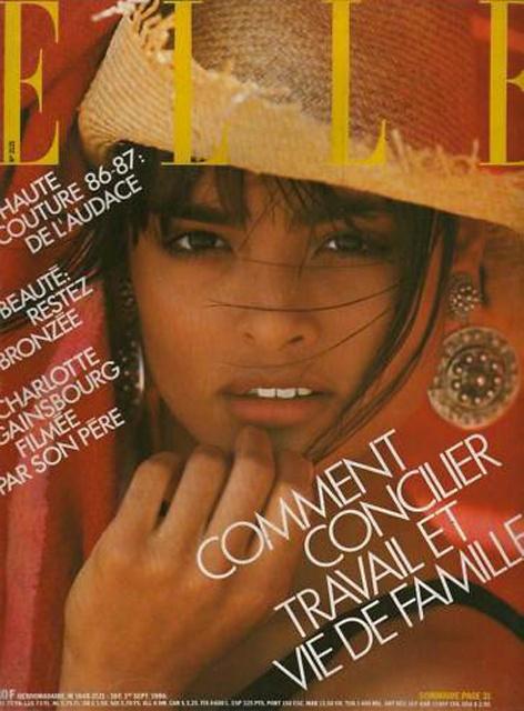 Talisa Soto - Elle France Sept 1986