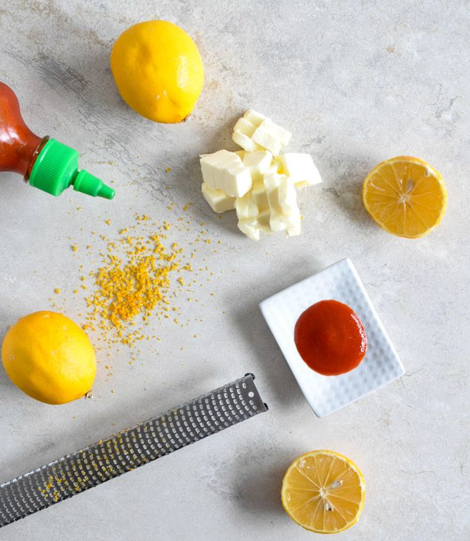 Beer Biscuits with Sriracha Meyer Lemon Butter | How Sweet It Is - I ...