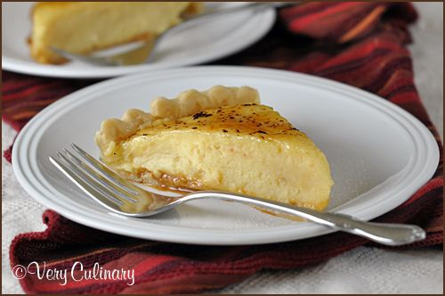 Caramel Creme Brulee Pie | Very Culinary. Love Creme Brulee and in pie ...