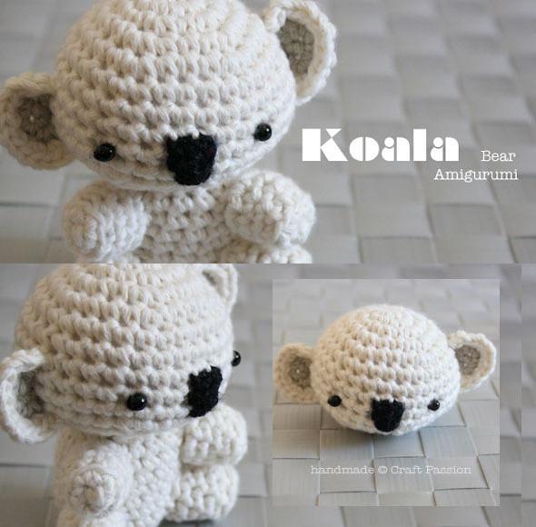 Crochet: Koala Bear Amigurumi Tutorial Crochet Pinterest
