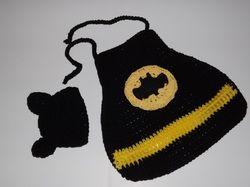 Batman Cape & hat Free Pattern crochet Pinterest