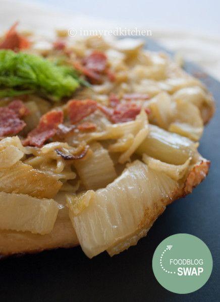in my Red Kitchen: Fennel tarte tatin, so delicious!