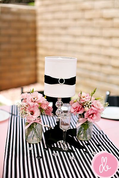pink black barbie themed lisa willis baby shower pinterest