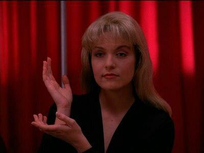 Meanwhile. Laura Palmer. Twin Peaks