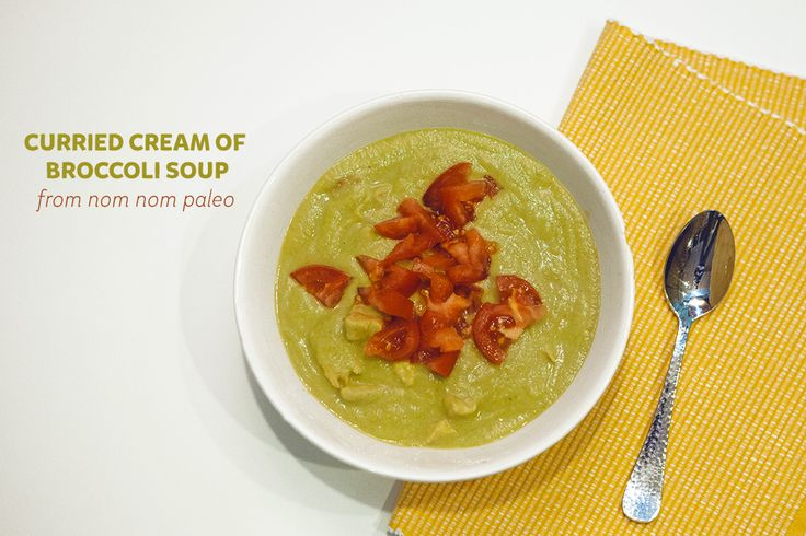 Curried cream of broccoli soup via @Heather Armstrong – Although I'm ...