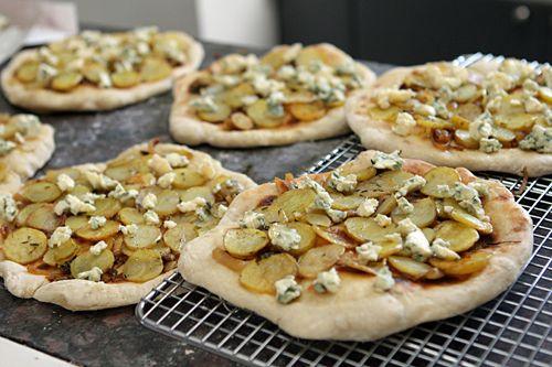 Potato and Blue Cheese Pizza | Recipe