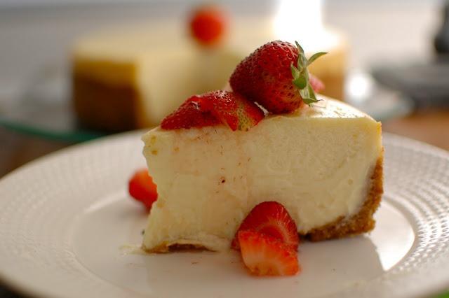 New York Style Cheesecake | Treats | Pinterest