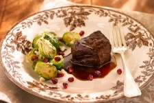 POM-Glazed-Braised Short Ribs and Brussels Sprout Salad with Arils By ...