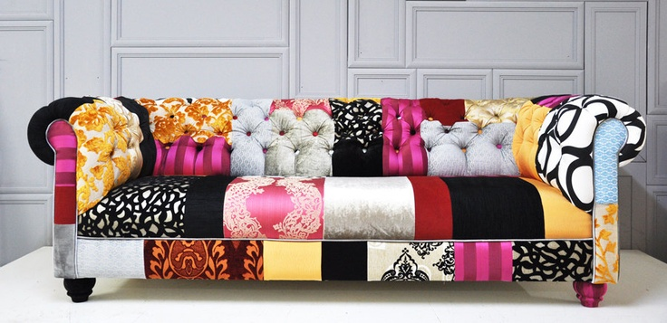 chesterfield patchwork sofa by namedesignstudio on Etsy, $2,800.00