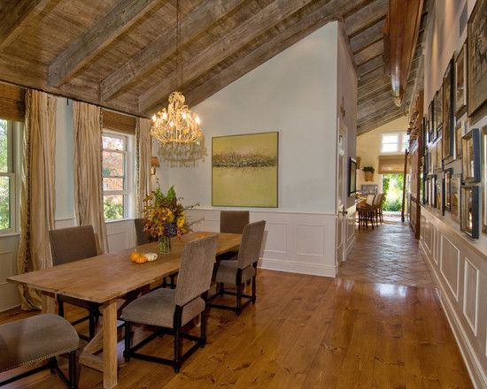 Nettraditional Dining Room Chandeliers : ... Decor: Charming French Country Retreat Dining Room Classic Chandelier