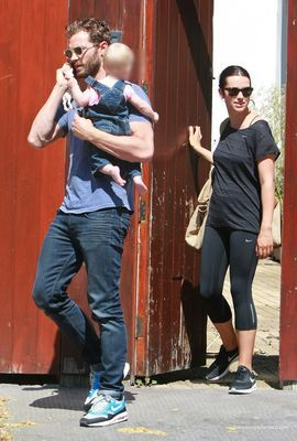 Jamie Dornan out with ...