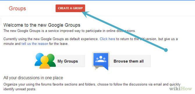 create mailing list blogger