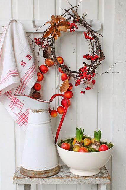 VIBEKE DESIGN: En ny favoritt..i rødt & hvitt !