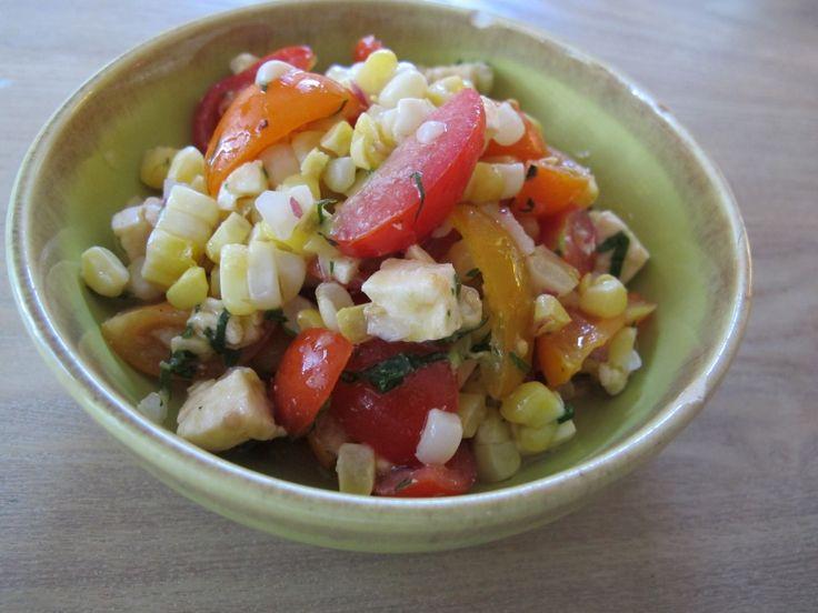 Corn Caprese Salad