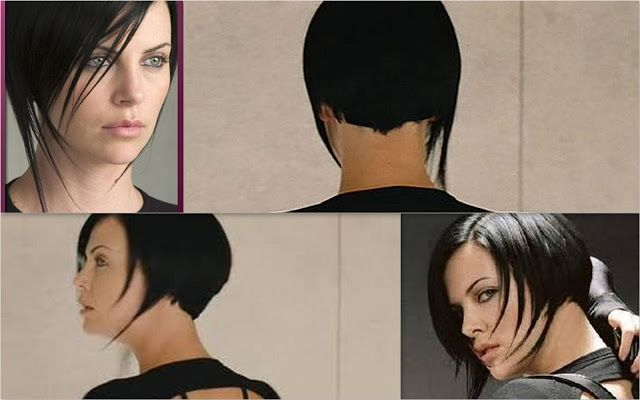 Aeon Flux: Charlize Theron Haircut | Femme Fatale | Pinterest