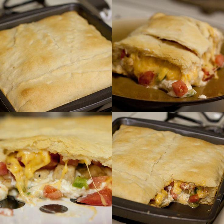 Chicken Crecent Casserole. dinner idea?(: