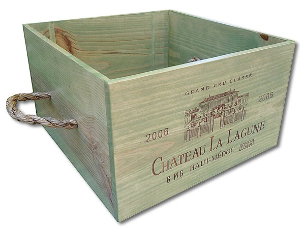 wine crate dog toy box handcrafted from authentic wooden wine boxes by ...