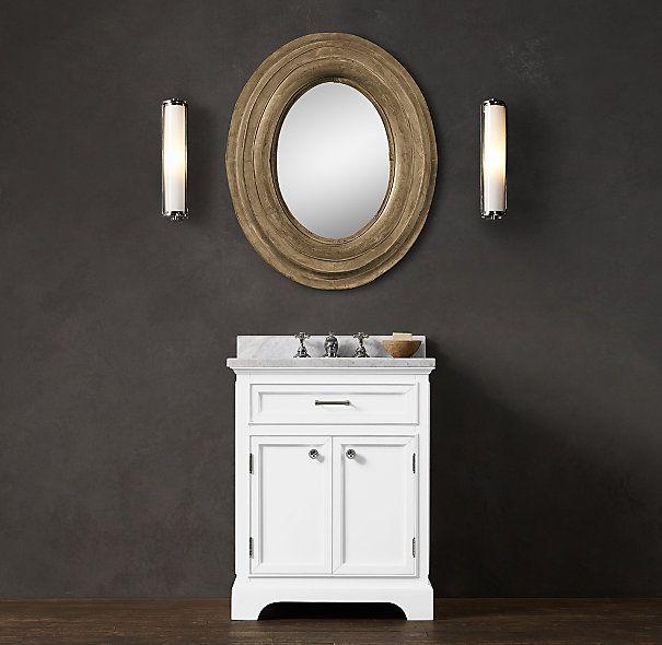 Excellent Ryvyr VKENT24WW KENT 24quot Bathroom Vanity In Whitewash Finish